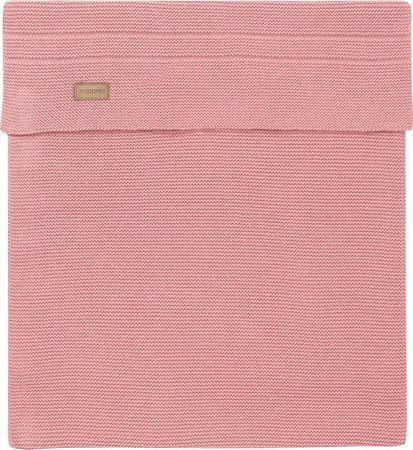 Noppies Ledikantdeken - 120x120 cm - Roze