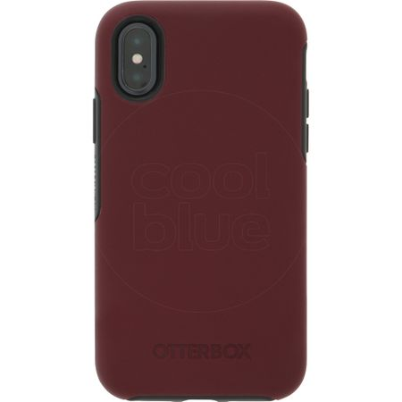 Otterbox Symmetry Apple iPhone X Back Cover Rood