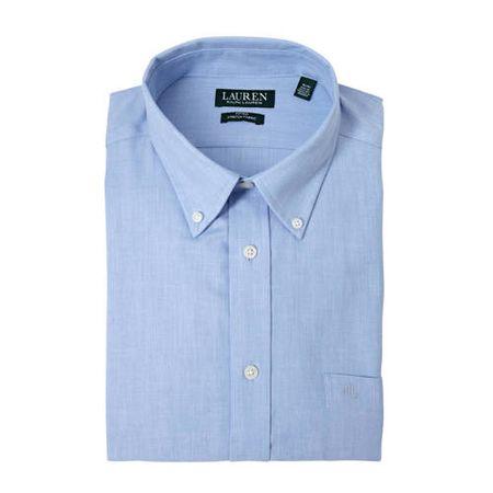 POLO Ralph Lauren slim fit overhemd lichtblauw