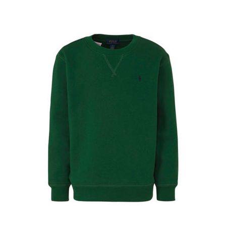POLO Ralph Lauren sweater met borduursels groen