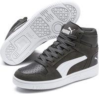 PUMA Rebound Layup SD Jr Sneakers Kinderen - CASTLEROCK-Puma White-Steel Gray