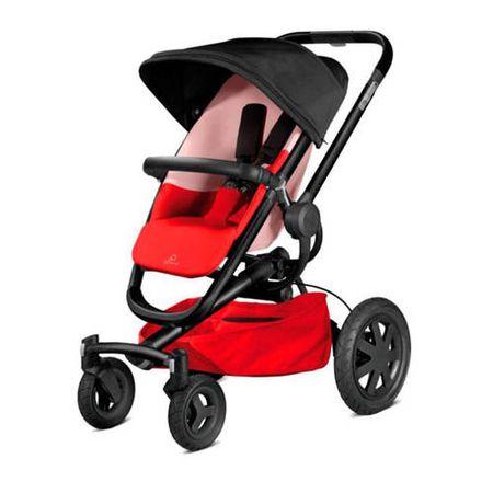 Quinny Buzz Xtra 4 wandelwagen reworked red
