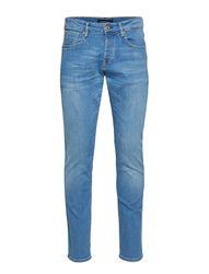 Ralston - Lucky Blauw Slim Jeans Blauw SCOTCH & SODA