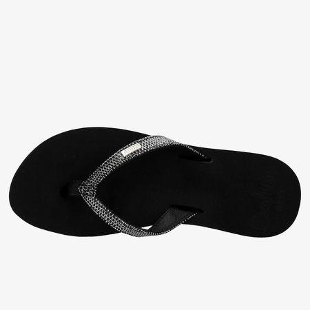 Reef reef star cushion sassy slippers zwart dames