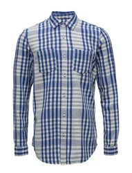 Relaxed Fit Bold Tea Towel Checked Shirt