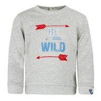 Rennen! Boys Sweatshirt grijs melange - Grijs - Gr.Babymode (6 - 24 maanden) - Jongen