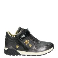 Replay Darrel-cocker hoge sneakers grijs