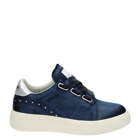 Replay lage sneakers blauw