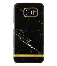 Richmond & Finch Smartphone covers Samsung Galaxy S6 Edge Marble Glossy Zwart