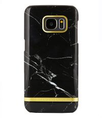 Richmond & Finch Smartphone covers Samsung Galaxy S7 Edge Cover Marble Glossy Zwart