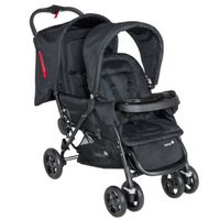 SAFETY 1st Duowagen Duodeal Full Black - Zwart