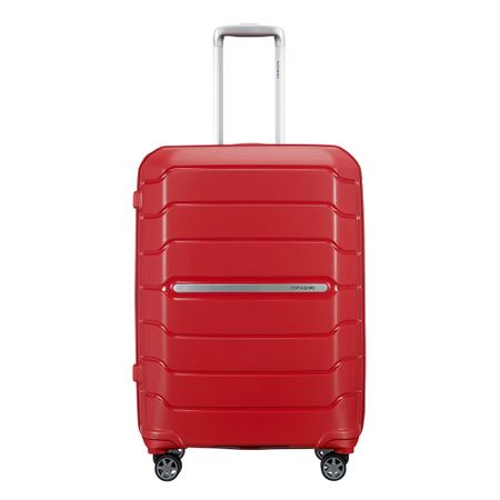 Samsonite Flux Spinner 68 Expandable red Harde Koffer