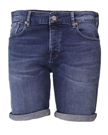 Scotch & Soda Jeans short 150482 blauw