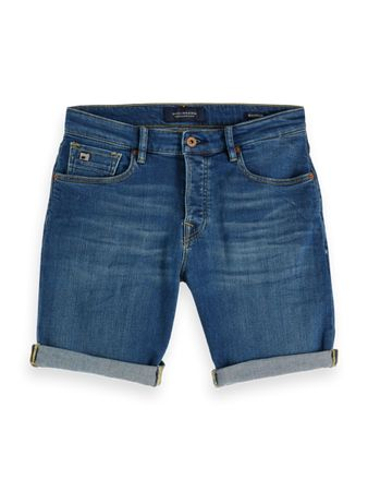 Scotch & Soda Korte Broek Jeans Blauw   29