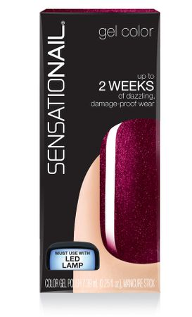 SensatioNail Gel Color Merlot Magic
