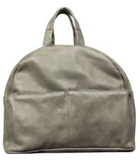 Shabbies Handtassen Backpack Medium Hand Buffed Taupe