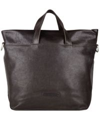 Shabbies Handtassen Handbag Medium Nappa Bruin