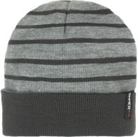 Sinner Valley Beanie Dark Heren Muts - Grijs - One