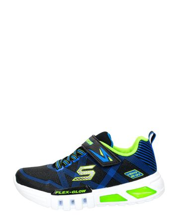 Skechers - S Lights Flex-g Low  - Blauw