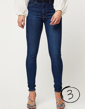 jeans voor smalle taille