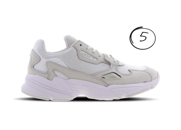 witte sneakers sale adidas falcon