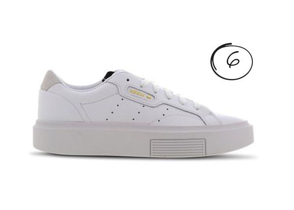 witte sneakers sale adidas originals sleek super