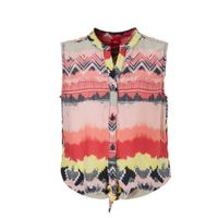 s.Oliver blouse met all over print