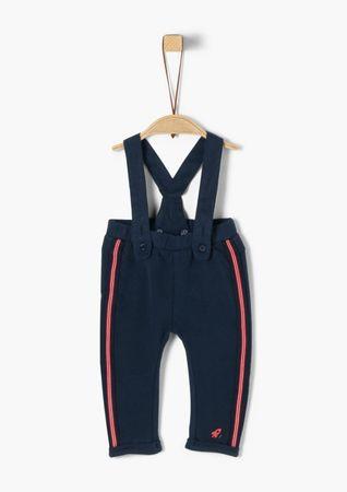 s.Oliver Junior Jeans met motief en omslag aan de band voor baby