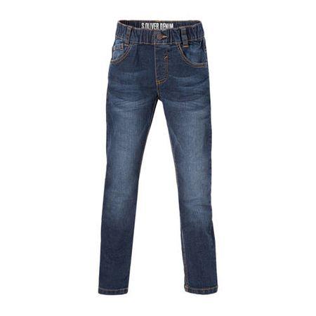 s.Oliver regular fit jeans dark denim