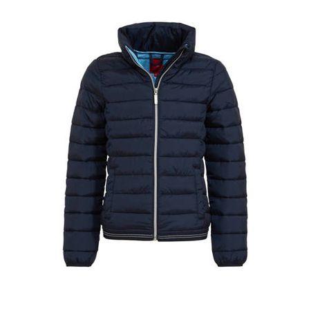 s.Oliver winterjas donkerblauw