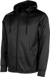 Stanno Field Hooded Top Full Zip Sportjas Kinderen - Black