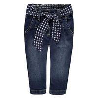 Steiff  Girl s jeans blauw denim - Zwart - Gr.Pasgeborene (0 - 6 jaar) - Jongen