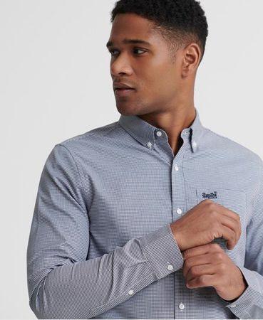 Superdry Classic London overhemd met lange mouwen