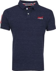 Superdry Classic Polo Navy
