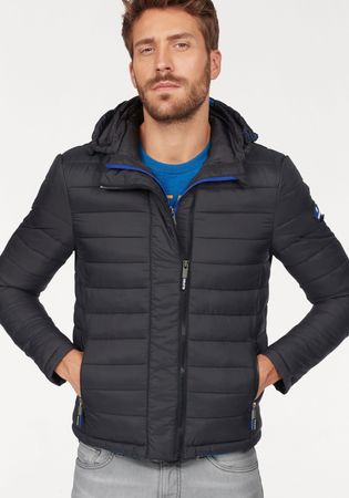 Superdry gewatteerd jack NEW FUJI DOUBLE ZIP HOOD