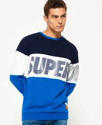 Superdry Japan City Breakers trui met ronde hals