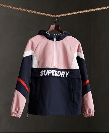 Superdry Jas voor over het hoofd met kleurvlakken