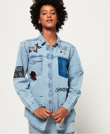 Superdry Oversized Denim overhemd