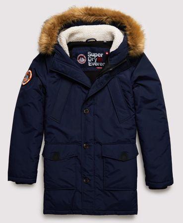Superdry Parka Winterjas Everest Navy