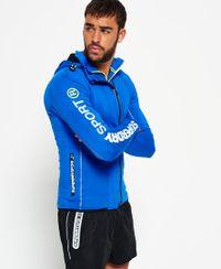 Superdry Sport Athletic hoodie met rits en inzetstukken