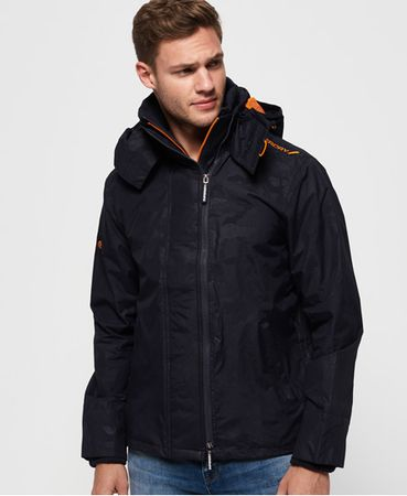 Superdry Tech Print Pop SD-Windcheater jas met capuchon en rits