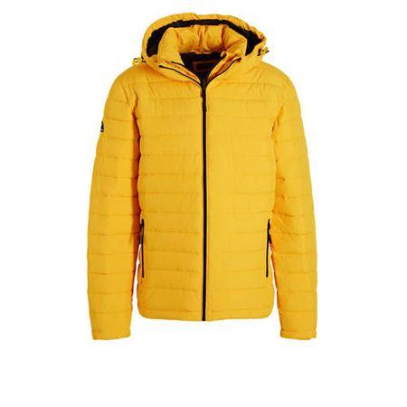 Superdry winterjas geel