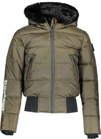 SuperRebel Meisjes Multi functionele jas - Army Green