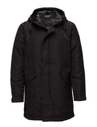 Surplus Goods Heavy Wght Parka Parka Jas Zwart SUPERDRY