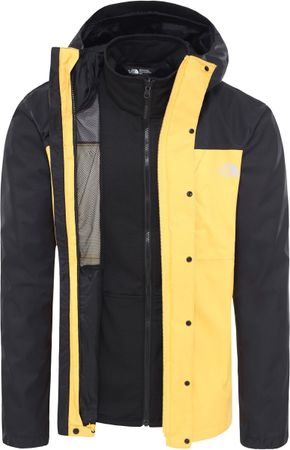 The North Face Quest Triclimate Heren Outdoor Jas - TNF Yellow / TNF Black