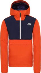 The North Face Waterproof Fanorak Heren Outdoorjas - Papaya Orange