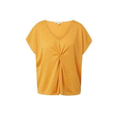 Tom Tailor Denim T-shirt geel