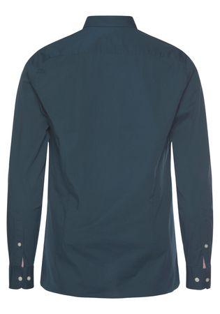 TOMMY HILFIGER overhemd met lange mouwen SLIM STRETCH POPLIN SHIRT