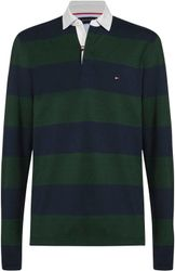 TOMMY HILFIGER rugbyshirt ICONIC BLOCK STRIPE RUGBY