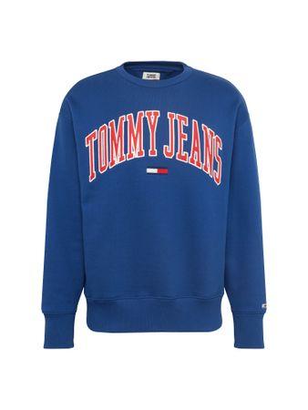 Tommy Jeans, Heren Sweatshirt 'TJM CLEAN COLLEGIATE CREW'